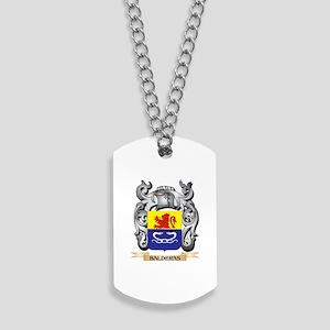 Balderas Family Crest - Balderas Coat of Dog Tags