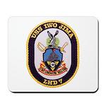 USS IWO JIMA Mousepad
