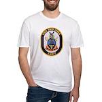 USS IWO JIMA Fitted T-Shirt