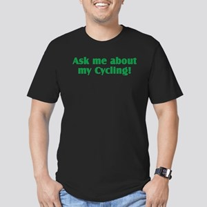 Cycling Men's Fitted T-Shirt (dark)