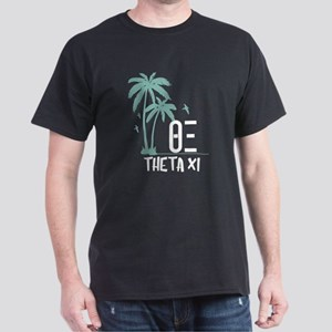 Theta Xi Palm Trees Dark T-Shirt