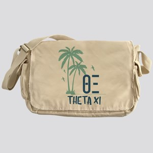 Theta Xi Palm Trees Messenger Bag