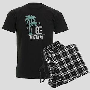 Theta Xi Palm Trees Men's Dark Pajamas