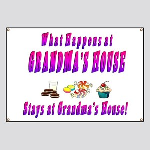 What Happens At Grandma's House Banner