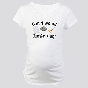Paper, Rock, Scissors Maternity T-Shirt
