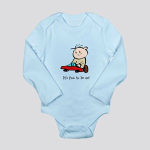 It's fun to be me! Long Sleeve Infant Bodysuit