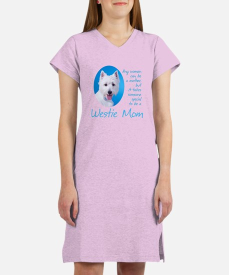 Westie Mom Women's Nightshirt