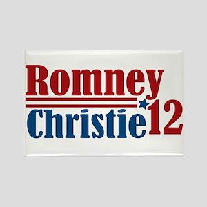 Romney Christie 2012 Rectangle Magnet