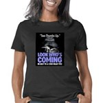 Look Whos Coming in July Women's Classic T-Shirt