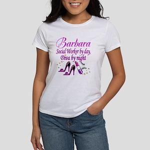 TOP SOCIAL WORKER Women's Classic White T-Shirt