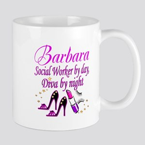 TOP SOCIAL WORKER 11 oz Ceramic Mug