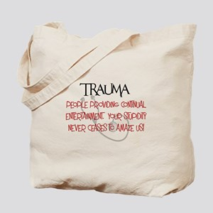 Trauma Tote Bag