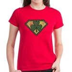 Super Shamrock Women's Dark T-Shirt