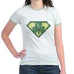 Super Shamrock Jr. Ringer T-Shirt