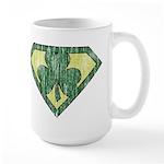 Super Shamrock Large Mug
