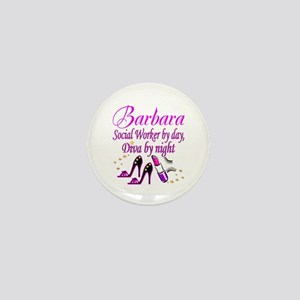 TOP SOCIAL WORKER Mini Button