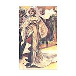 Charles Robinson's Cinderella Sticker (Rectangular
