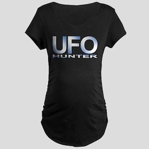 UFO Hunter Maternity Dark T-Shirt