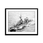 USS FRED T. BERRY Framed Panel Print