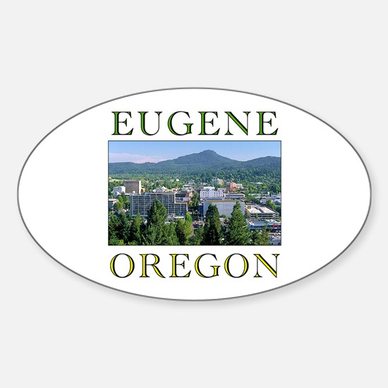 Cute Eugene Sticker (Oval)