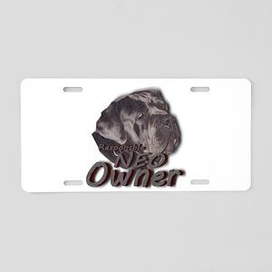 Responsible Neo Owner Aluminum License Plate