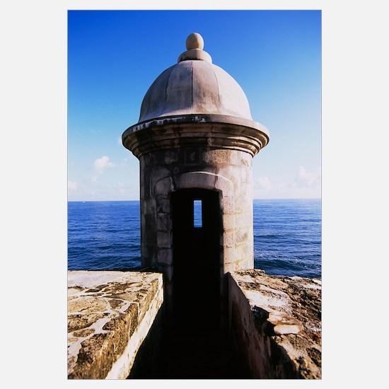 Turret of a castle, Morro Castle, Old San Juan, Sa