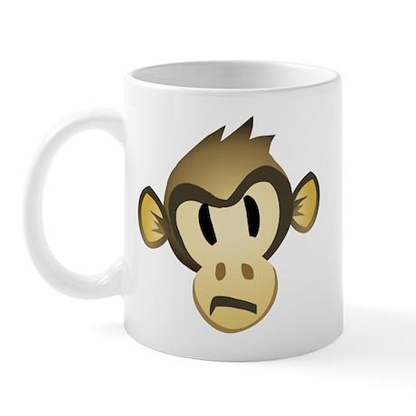 Disgruntled Monkey Mug