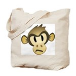 Disgruntled Monkey Tote Bag