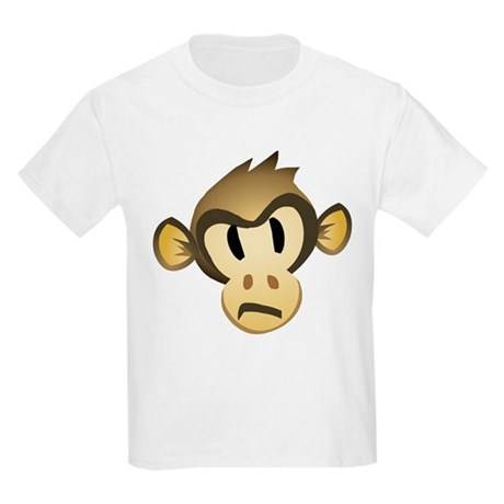 Disgruntled Monkey Kids T-Shirt