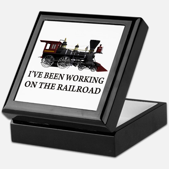 I've Been Working on the Railroad Keepsake Box