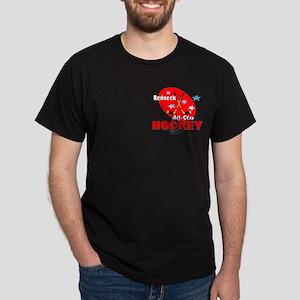 Rednexk Hockey Black T-Shirt