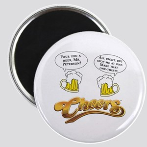 Norm Peterson CHEERS Humor Magnet