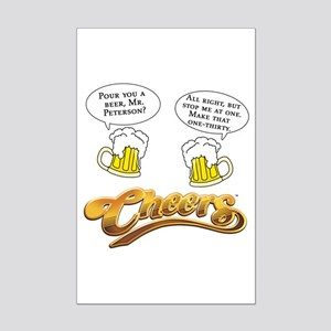 Norm Peterson CHEERS Humor Mini Poster Print
