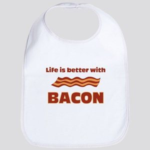 Life Is Better With Bacon Bib