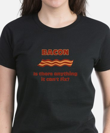 Bacon, Is There Anything It C Women's Dark T-Shirt