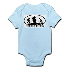 Infant Bodysuit with Silhouette Logo