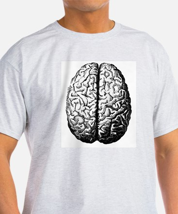 Brain II Ash Grey T-Shirt
