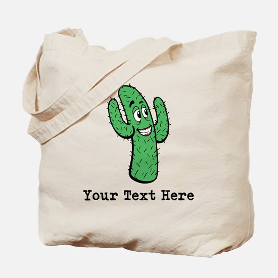 Desert Cacti. Custom Text. Tote Bag