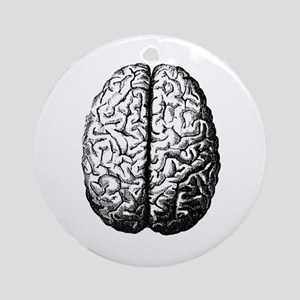 Brain II Ornament (Round)
