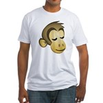Sleepy Monkey Fitted T-Shirt