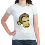 Sleepy Monkey Jr. Ringer T-Shirt