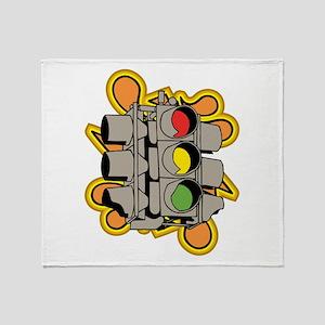 Traffic Light. Throw Blanket