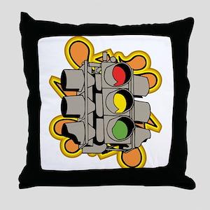 Traffic Light. Throw Pillow