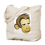 Sleepy Monkey Tote Bag