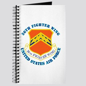 56th Fighter Wing with Text Journal