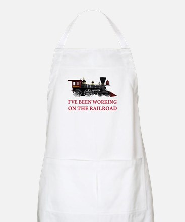 I've Been Working on the Railroad Apron