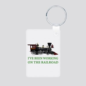 I've Been Working on the Railroad Aluminum Photo K