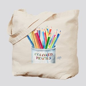 My Colored Pencils Tote Bag