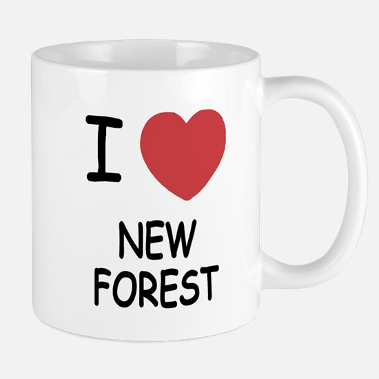 I heart new forest Mug