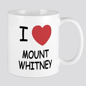 I heart mount whitney Mug